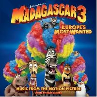 Cover Soundtrack / Hans Zimmer - Madagascar 3 - Europe's Most Wanted