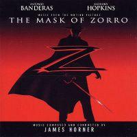 Cover Soundtrack / James Horner - The Mask Of Zorro