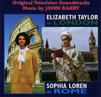 Cover Soundtrack / John Barry - Elizabeth Taylor In London - Sophia Loren In Rome