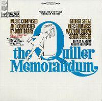Cover Soundtrack / John Barry - The Quiller Memorandum