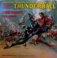 Cover Soundtrack / John Barry - Thunderball