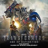 Cover Soundtrack / Steve Jablonsky - Transformers: Age Of Extinction - The Score