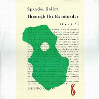 Cover Spandau Ballet - Through The Barricades