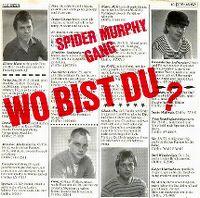 Cover Spider Murphy Gang - Wo bist du?