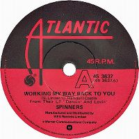 Cover Spinners - Working My Way Back To You