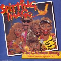 Cover Spitting Image - The Chicken Song