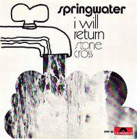 Cover Springwater - I Will Return
