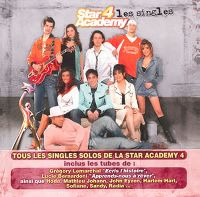 Cover Star Academy 4 - Les singles