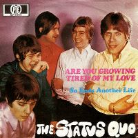 Cover Status Quo - Are You Growing Tired Of My Love