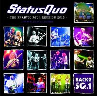 Cover Status Quo - Back2SQ.1 - The Frantic Four Reunion 2013 - Live At Glasgow O² Academy