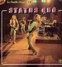 Cover Status Quo - Le double disque d'or de Status Quo