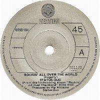Cover Status Quo - Rockin' All Over The World