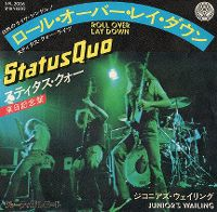 Cover Status Quo - Roll Over Lay Down