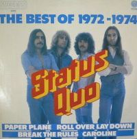 Cover Status Quo - The Best Of 1972 - 1974