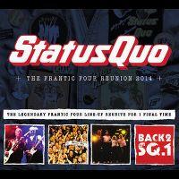 Cover Status Quo - The Frantic Four Reunion 2014