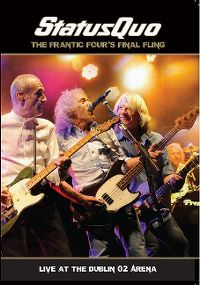 Cover Status Quo - The Frantic Four's Final Fling - Live At Dublin O² Arena