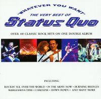 Cover Status Quo - Whatever You Want - The Very Best Of