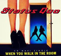 Cover Status Quo - When You Walk In The Room