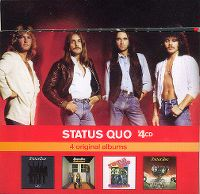 Cover Status Quo - x4CD: 4 Original Albums