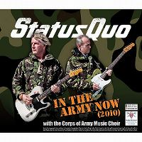 Cover Status Quo with the Corps of Army Music Choir - In The Army Now (2010)