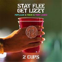 Cover Stay Flee Get Lizzy / Popcaan x Fredo x Tory Lanez - 2 Cups