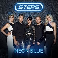 Cover Steps - Neon Blue