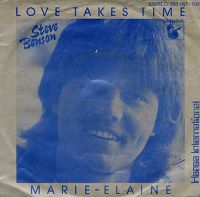 Cover Steve Benson - Love Takes Time