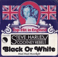 Cover Steve Harley & Cockney Rebel - Black Or White