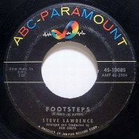 Cover Steve Lawrence - Footsteps