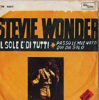 Cover Stevie Wonder - Il sole è di tutti