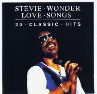 Cover Stevie Wonder - Love Songs - 20 Classic Hits