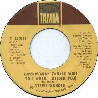 Cover Stevie Wonder - Superwoman (Where Were You When I Needed You)
