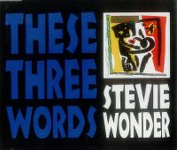 Cover Stevie Wonder - These Three Words