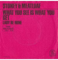 Cover Stoney & Meat Loaf - What You See Is What You Get