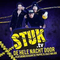 Cover Stuk.tv feat. Kraantje Pappie & Cazz Major - De hele nacht door