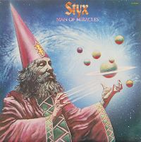 Cover Styx - Man Of Miracles