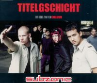 Cover Subzonic - Titelgschicht