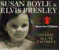 Cover Susan Boyle with Elvis Presley - O Come, All Ye Faithful