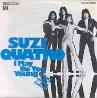 Cover Suzi Quatro - I May Be Too Young