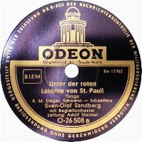 Cover Sven-Olof Sandberg - Unter der roten Laterne von St. Pauli