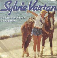 Cover Sylvie Vartan - L'amour c'est comme une cigarette