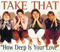 Cover Take That - How Deep Is Your Love