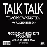 Cover Talk Talk - Tomorrow Started (Live)