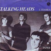 Cover Talking Heads - I Zimbra