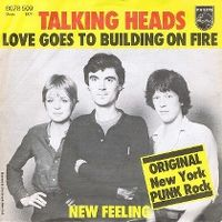 Cover Talking Heads - Love Goes To Building On Fire