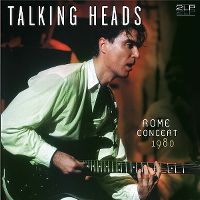 Cover Talking Heads - Rome Concert 1980