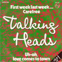 Cover Talking Heads - Uh-Oh, Love Comes To Town