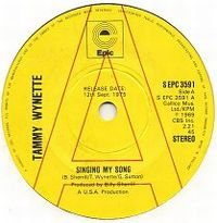 Cover Tammy Wynette - Singing My Song