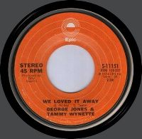 Cover Tammy Wynette & George Jones - We Loved It Away