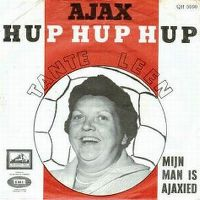 Cover Tante Leen - Ajax hup hup hup